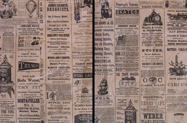 Old Vintage Newspaper Texture