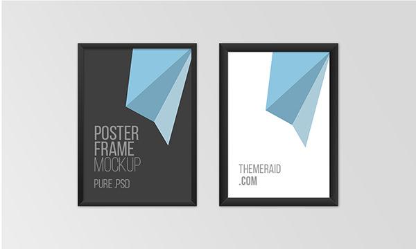 Poster-frame-Mockup-psd