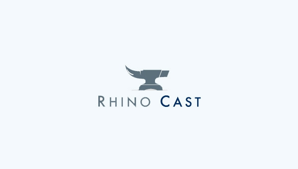 Rhino-Cast-Logo-Design
