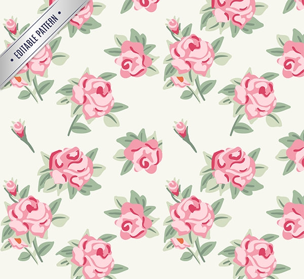 Roses-pattern