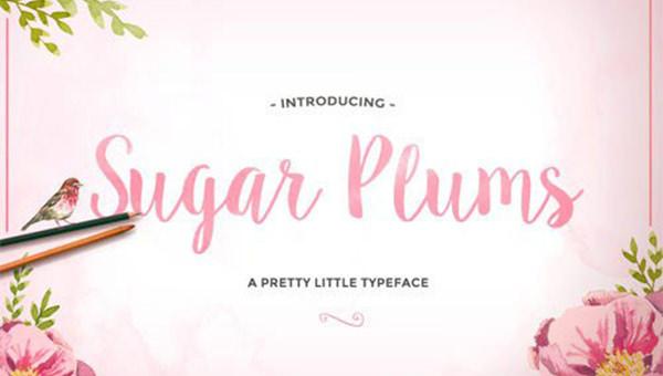 Sugar-Plums-Script