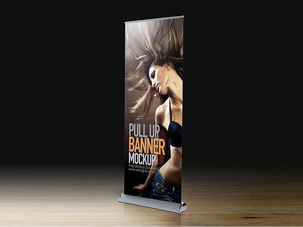 Tradeshow Display banner mockup