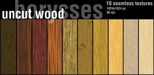 Uncut Seamless Wood Flooring Textures
