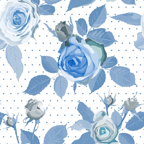 10 free vector rose patterns freecreatives