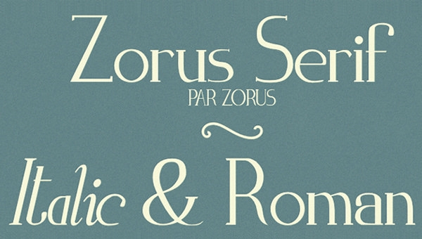 Zorus-Serif