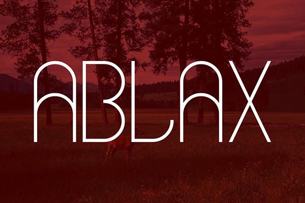 ablax-font