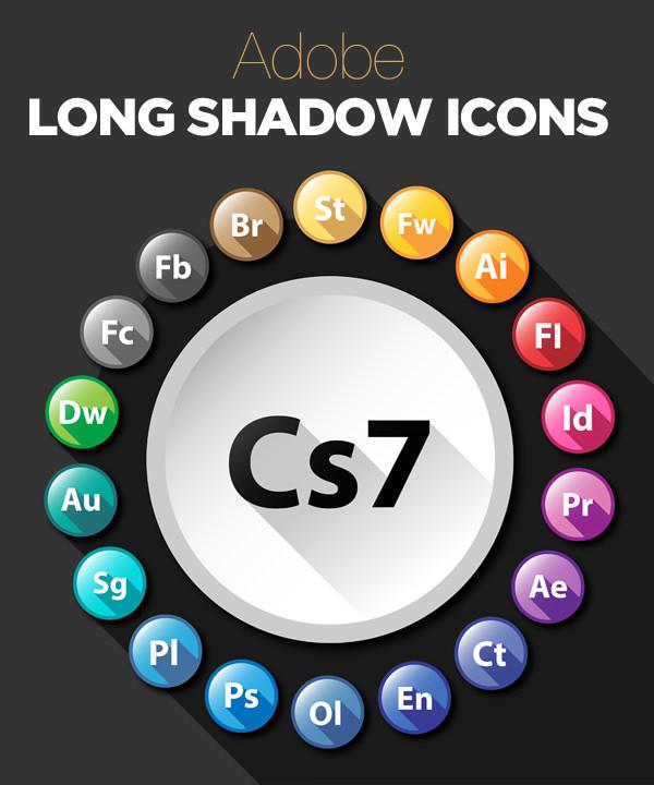 adobe-long-shadow-icons