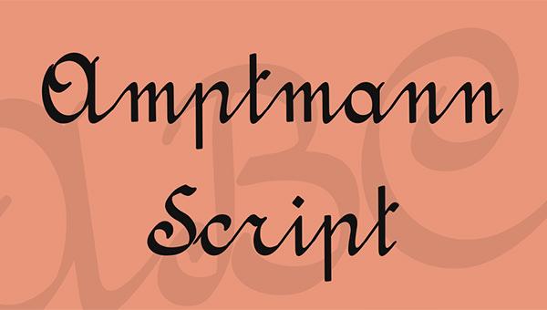 amptmann-script-font