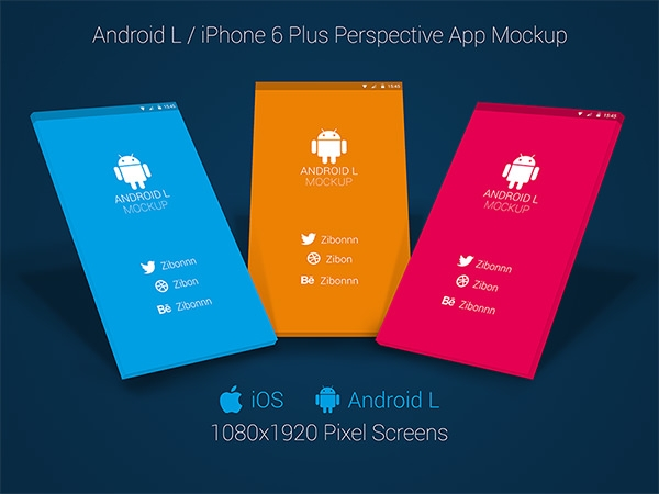 android or iphone 6 plus app-mock-up