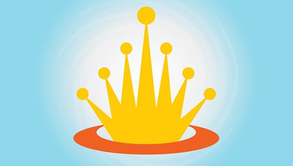 animated crown logo designs