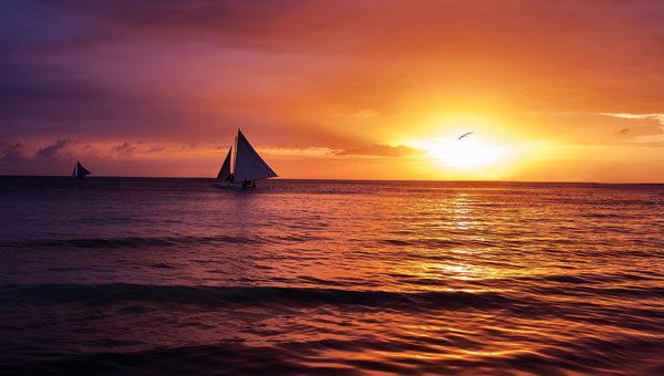 10 Best HD Beach Sunset Desktop Wallpapers