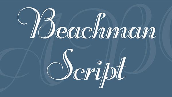 beachman-script-font