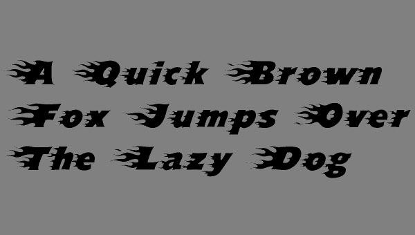 blazed-font