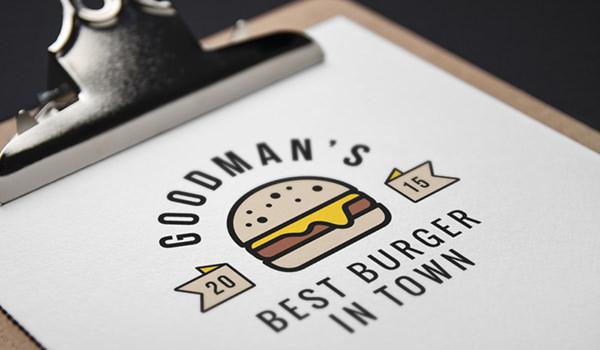 burger-logo mockup