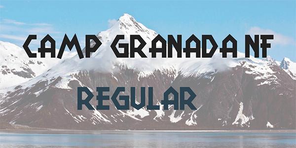 camp-granada-nf-font