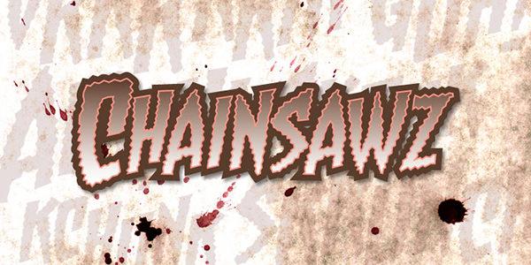 chainsawz font