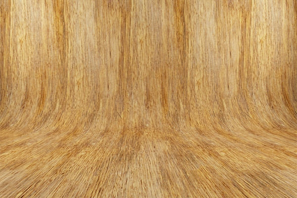 curved wooden textured background