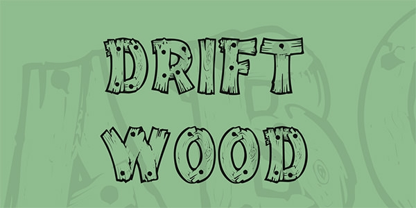 drift-wood-font-