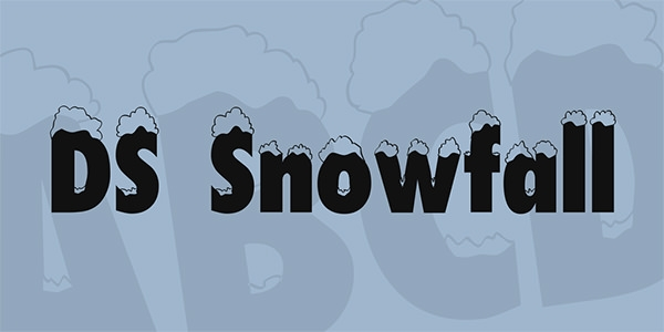ds-snowfall-font-