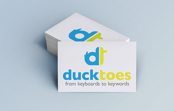 ducktoes logo design