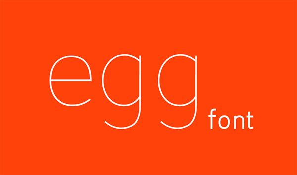 egg font