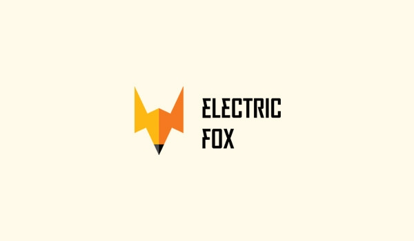 electric fox logo design for inspiration