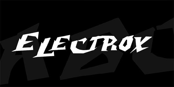 electrox-font-