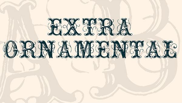 extraornamentalno-font