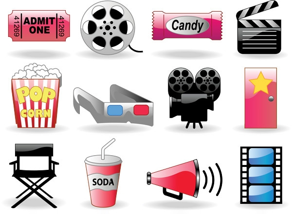 film-icons-set