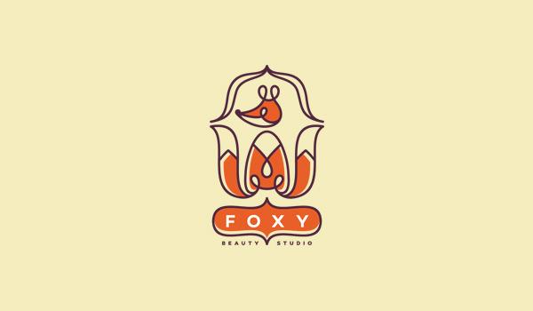 foxy logo design