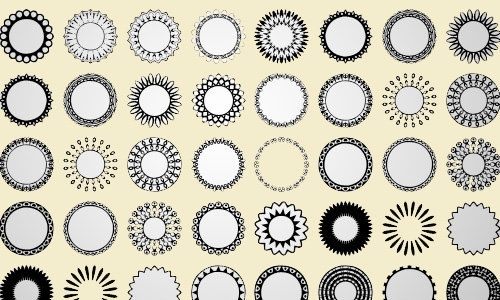 -free-circular-custom-shapes-set-3