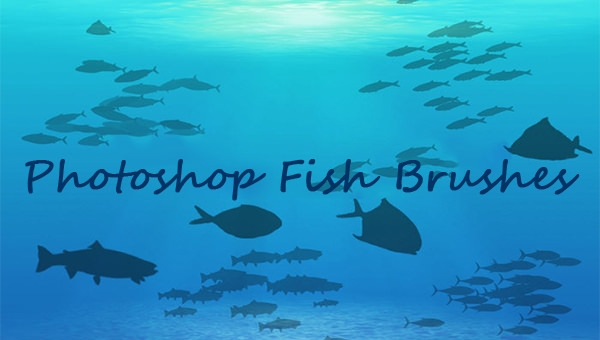free-photoshop-fish-brushes-set