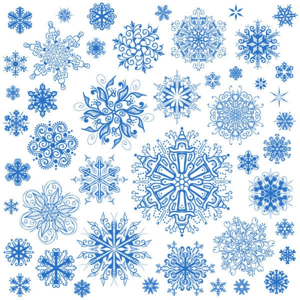 free photoshop snowflake patterns