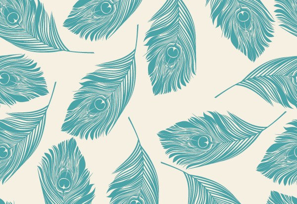 free-vector-feather-pattern