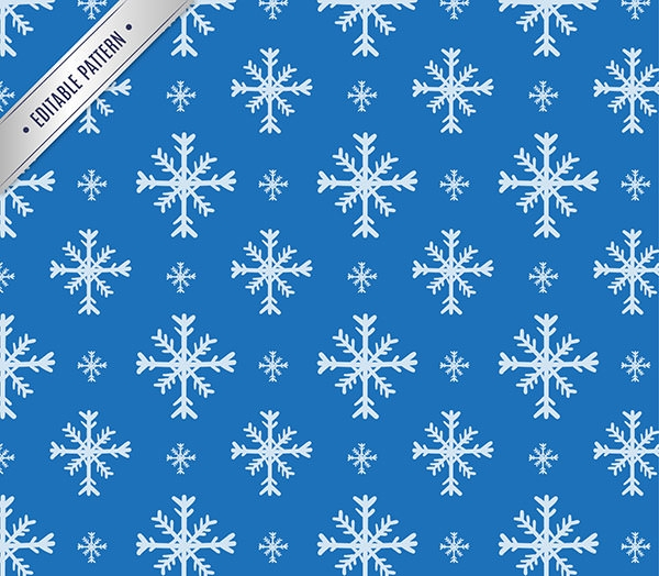 free vector photoshop snowflake pattern