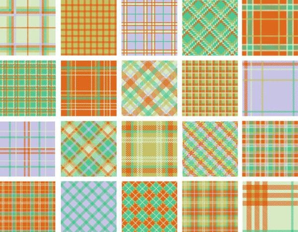 free vector plaid patterns
