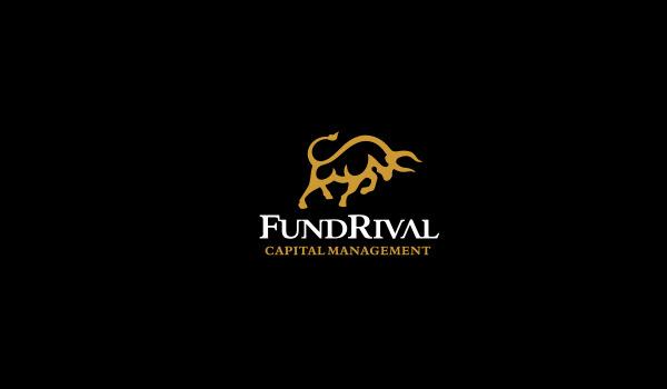 fundrival bull logo design