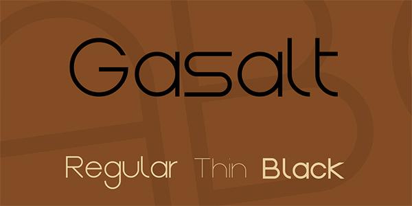 gasalt-font