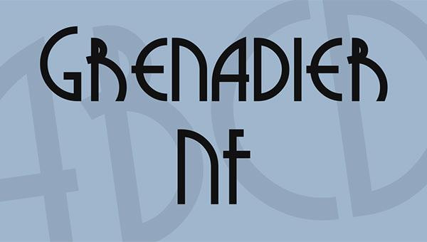 grenadier-font