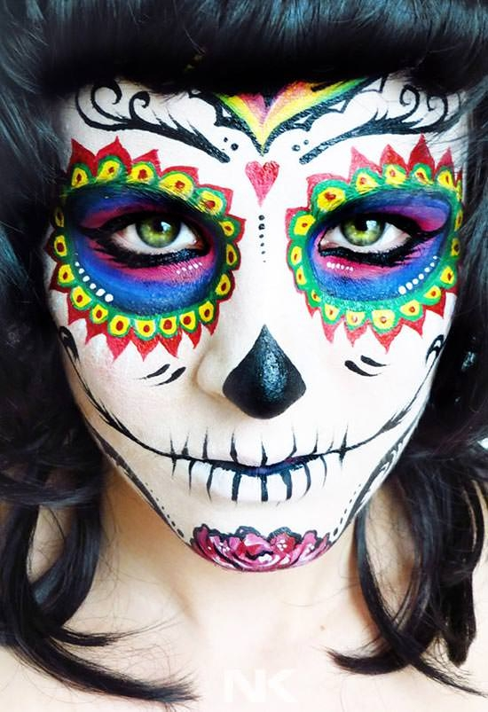 halloween-face-painting