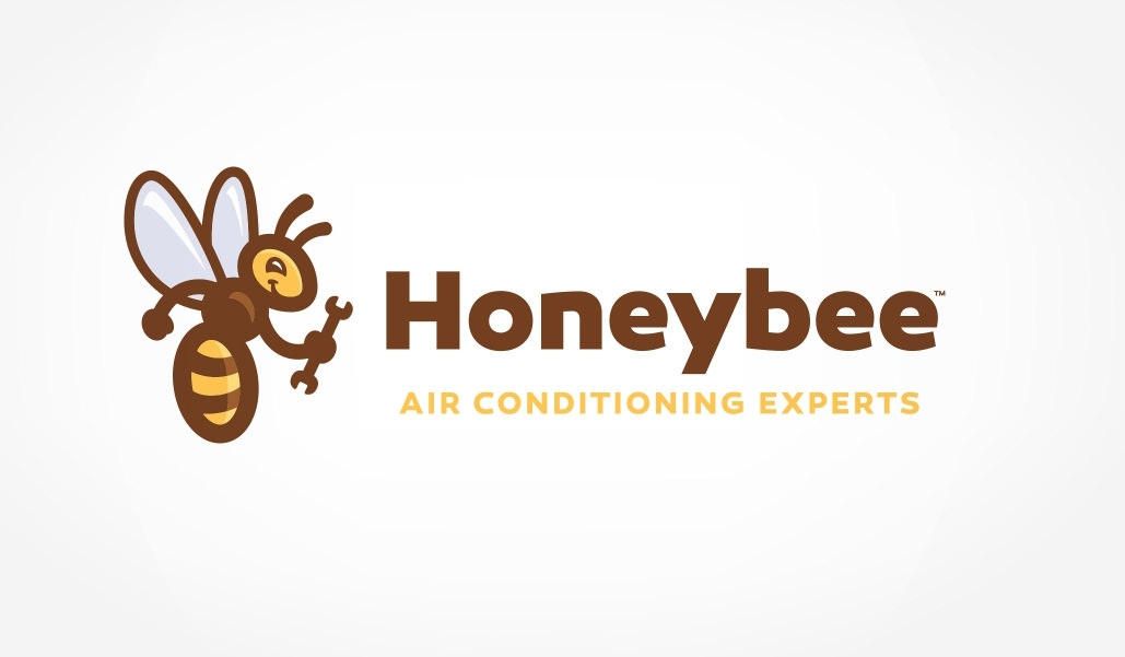 honeybee-logo design