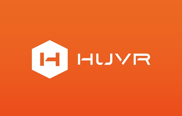 huvr-identity logo desing