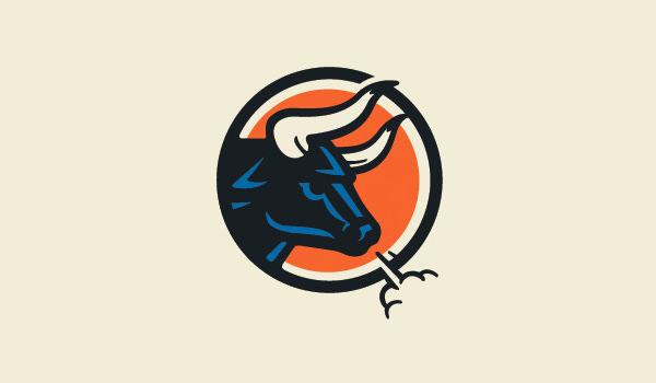 inspirational bull logo