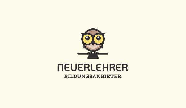 inspirational owl logo design