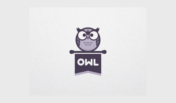 inspirational owl logo