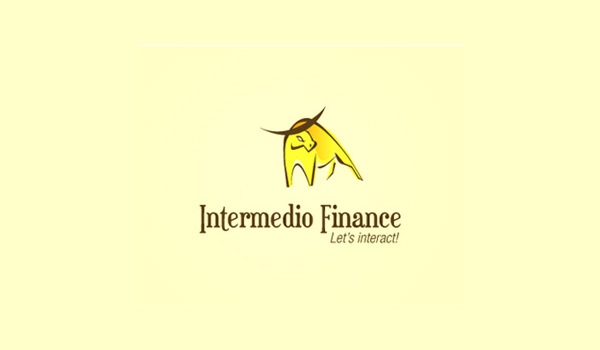 intermedio-finance-bull-logo-design
