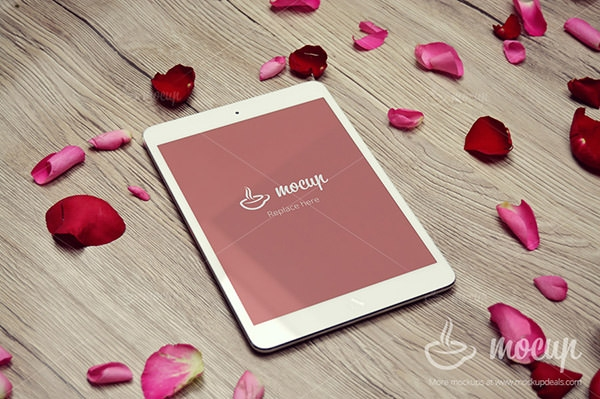 ipad mini mockup free psd