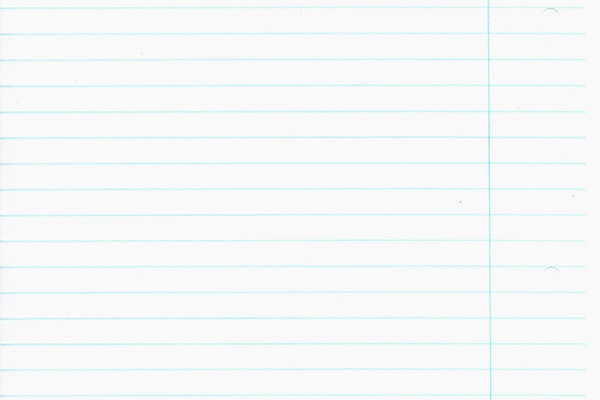 lined_paper_with smooth texture