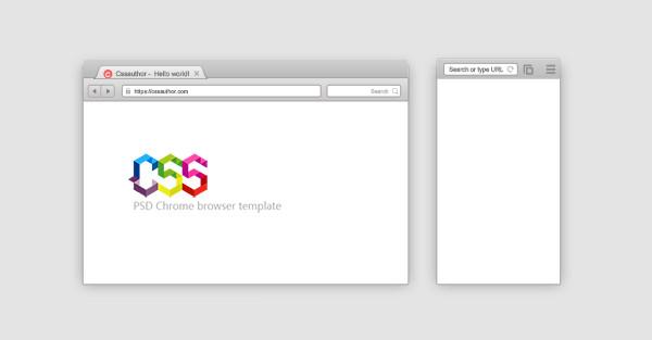 mobile and desktop browser mockup