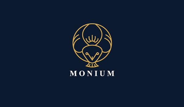 monium owl logo